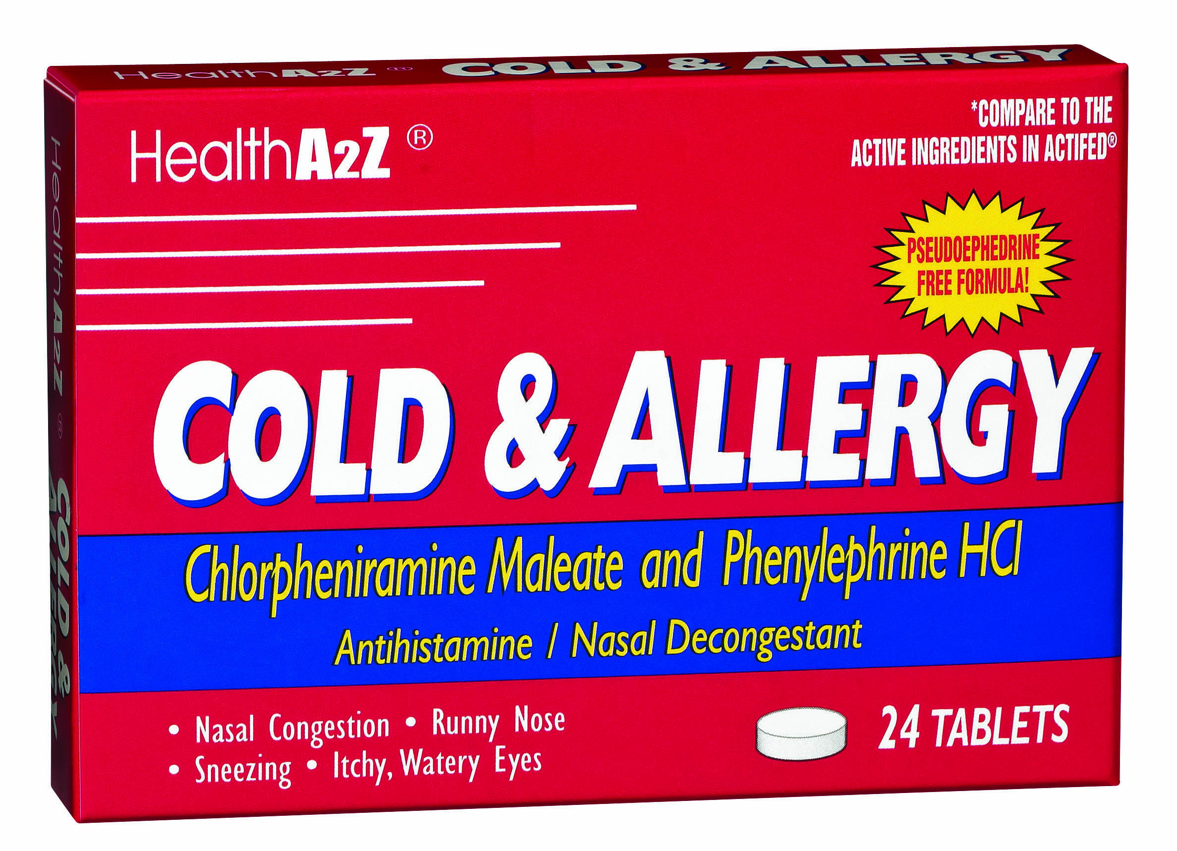 HealthA2Z® Cold & Allergy Medication